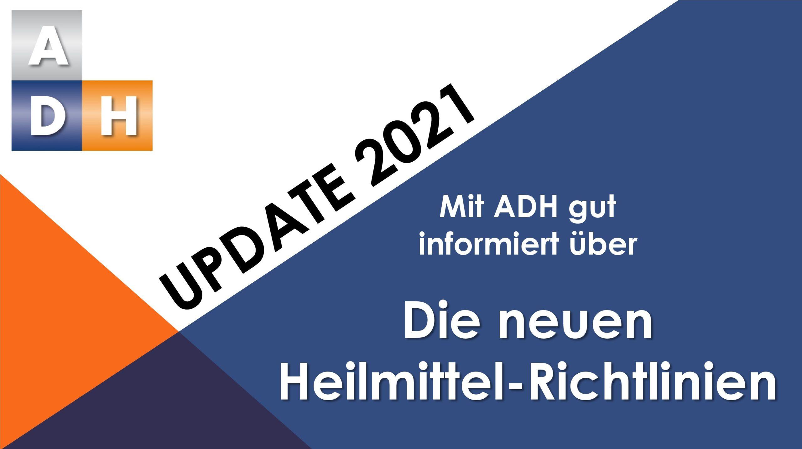 Update 2021 – Videoreihe: Der neue Heilmittelkatalog (HMK)