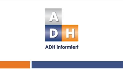 ADH informiert: Erweiterung der Diagnosen für den Langfristigen Heilmittelbedarf // Steigerung der Höchstmengen in der Ergotherapie
